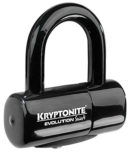 Kryptonite Evolution Series 4 Bicycle Disc Bike Lock (Black)