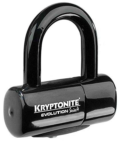 Kryptonite Evolution Series 4 Bicycle Disc Bike Lock (Black)