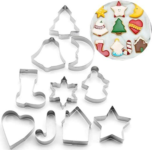 Plätzchen Keks Gebäck Teig Ausstechform Ausstecher Stern Weihnachten Deko