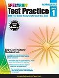 Spectrum Test Practice Workbook, Grade 1