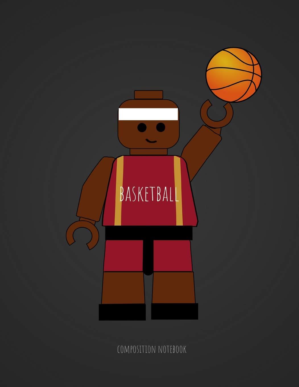 Basketball Composition Notebook: Unofficial Lego Basketball Player ...