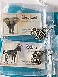 Best Smiling Wisdom Friend Necklace Kids - Smiling Wisdom - Zebra, Elephant - 2 Hollow Review