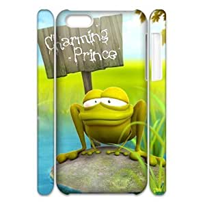 3D 3D frog vision For Iphone 6 4.7 Phone Case Cover White