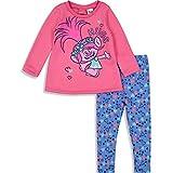 Trolls Poppy Baby Girls' Fashion Tunic Top & Leggings 2-Piece Set, Pink (24 Months)
