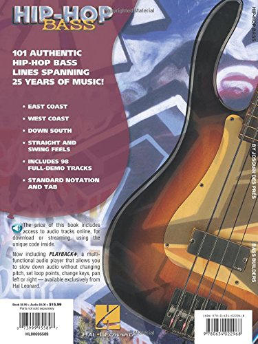 Amazon com: Hip-Hop Bass: 101 Grooves, Riffs, Loops, and