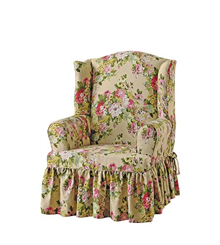 Sure Fit Juliet by Waverly Wing Chair Slipcover - Bliss ()
