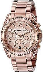 Michael Kors Women's Blair Rose Gold-Tone Watch MK5263