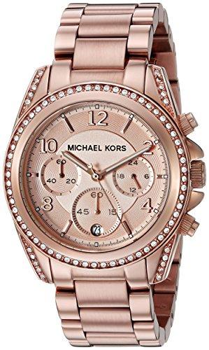 Michael Kors – Reloj cronógrafo de cuarzo para mujer