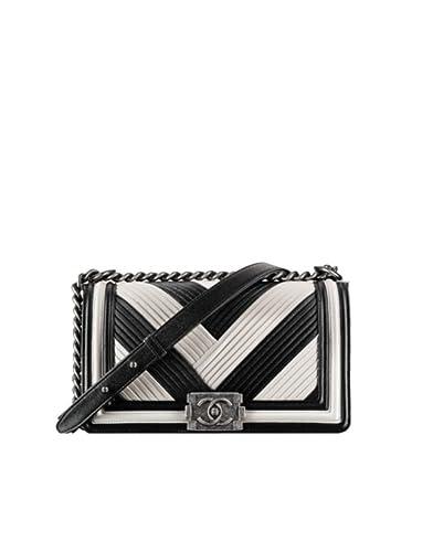 319aea3f0bc0 New Chanel Black & White Boy Flap Bag: Amazon.co.uk: Shoes & Bags