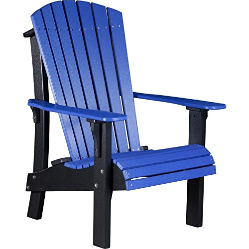 LuxCraft Recycled Plastic Royal Adirondack Chair