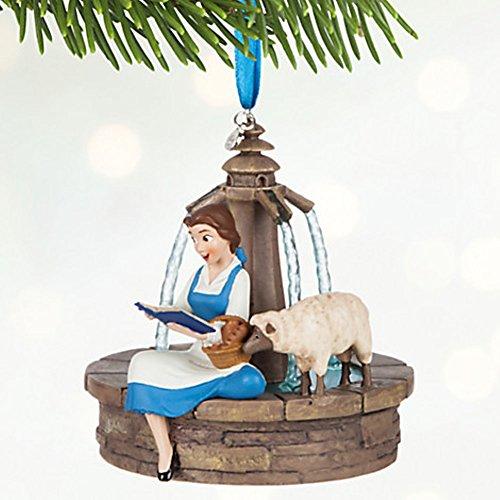 Disney Belle Singing Sketchbook Ornament