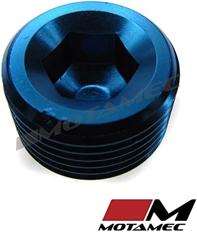 MOTAMEC 3//8 NPT Socket Blanking Plug Alloy Fitting