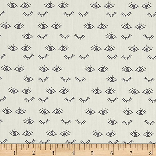 Art Gallery Fabrics 0451139 Art Gallery Hello Ollie Organic Meadow Dreams Pure Fabric by The -