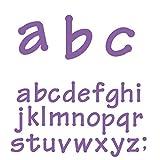 Ellison Lollipop Lowercase Letters Sure Cut Die Set