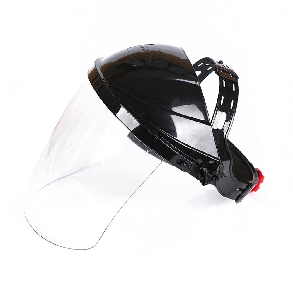 Highmoor Welding Helmet ARC Weld Welder Lens Grinding Mask, Plasma Cutting/Grinding, Safety Face Shield Clear Anti-Fog Window with Ratchet Headgear