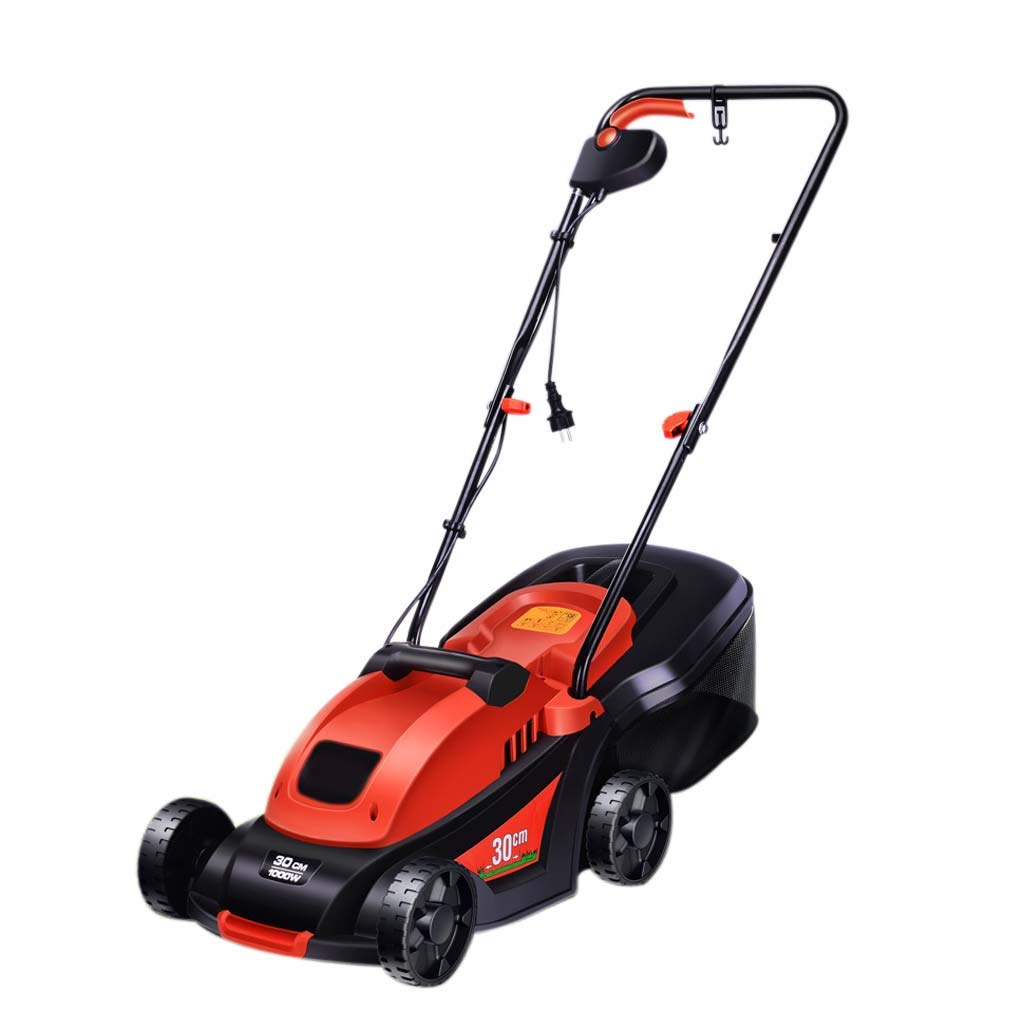 WHJ@ 220v Dc Small Household Electric Lawn Mower Hand Push Lawn Machine Plug-in Trimmer by ZM-Lawn mower