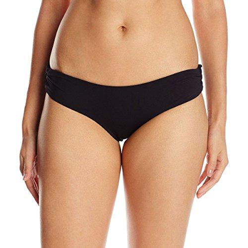 (LSpace Women's Monique Full Cut Bikini Bottom, Black, LG )