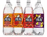 Polar 100% Natural Seltzer 12 x 1L (33.8 Fl oz) - Winter Variety - (Winter Citrus & Berry, Blood Orange Sangria, Cranberry Cider, Blackberry Citron)