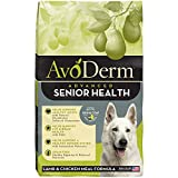 AvoDerm Natural Advanced Senior Health Dry Dog Food, Grain Free, Lamb Recipe