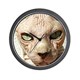 CafePress – Hairless Sphynx Cat – Unique Decorative 10″ Wall Clock For Sale