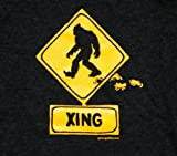 Gone Squatchin Adult Xing T-shirt Size Adult M