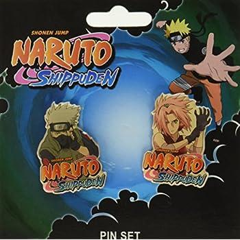 Amazon.com: Naruto Shippuden: Pins – Kakashi y Sakura (Set ...