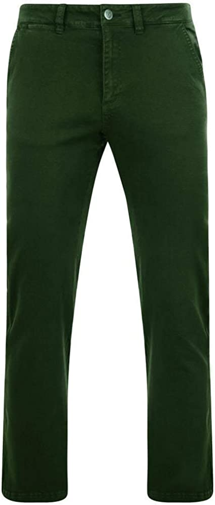 Men/'s Extra Tall Stretch Chino Trousers L34//36//38 Modern in Waist 32 to 48
