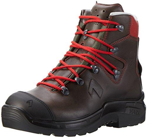 HAIX zapatos de seguridad zapatos de protección S3luz en el bosque - braun/rot