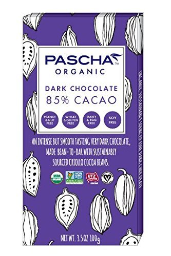 Image result for PASCHA dark chocolate bar