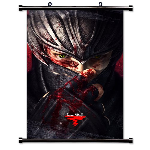 Ninja Gaiden Videogame Fabric Wall Scroll Poster (16
