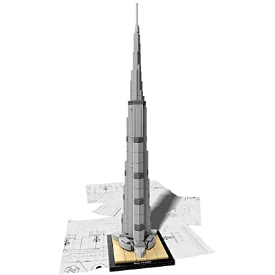LEGO Architecture Burj Khalifa 21031 Landmark Building Set: Toys & Games