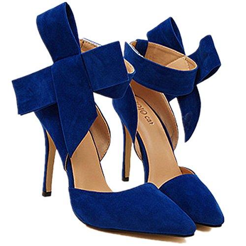 ANBOVER ANBOVER Pumps Blau ANBOVER Pumps Damen Damen Damen Blau Og5XxT0nq