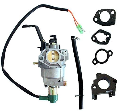 Hooai New Carburetor With Lever Choke Gaskets Insulator