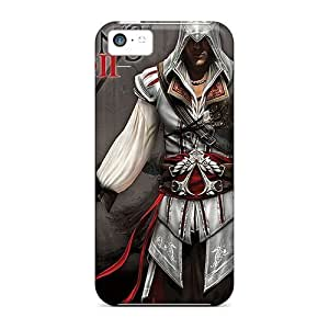 For Iphone 5c Tpu Phone Case Cover(assassins Creed 2)