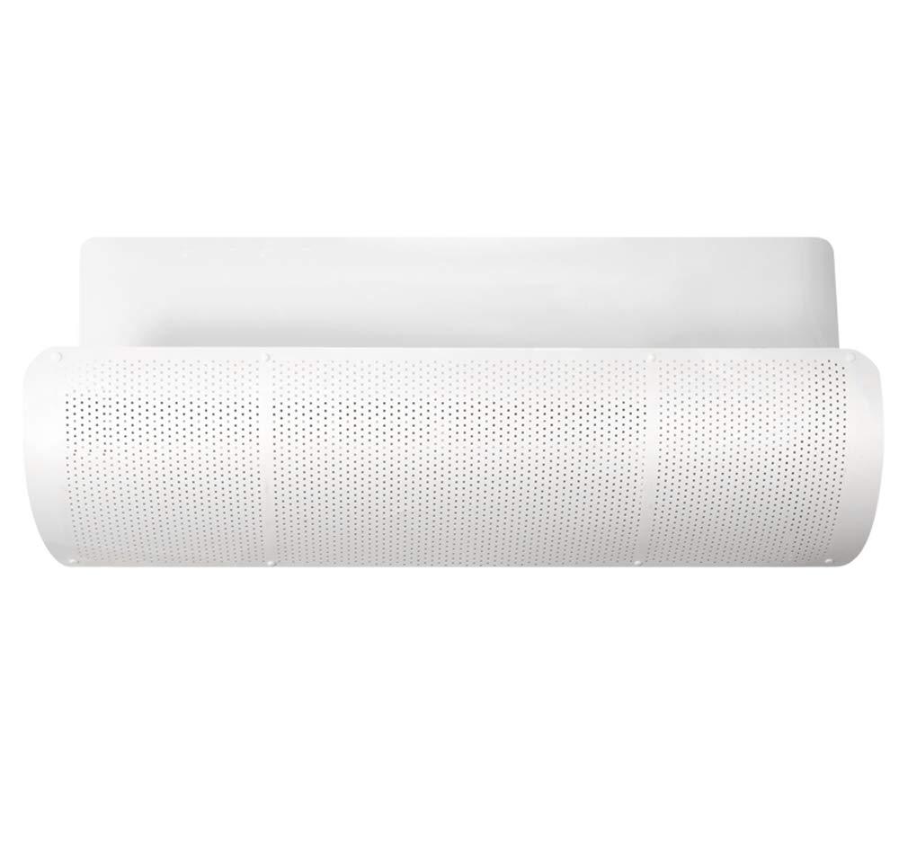 Yingpai-Air Conditioner Deflector Deflettore del condizionatore d'aria Prevenire l'aria dal soffiare dritta Adatta per condizionatori d'aria inferiori a 90 cm di lunghezza