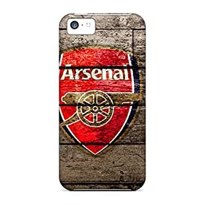 Eco-friendly Packaging mobile phone carrying cases Protective Cases Extreme iphone 4 /4s - fc arsenal sport