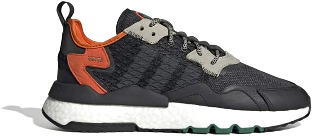 adidas Originals Nite Jogger, Core Black-Grey Six-Orange
