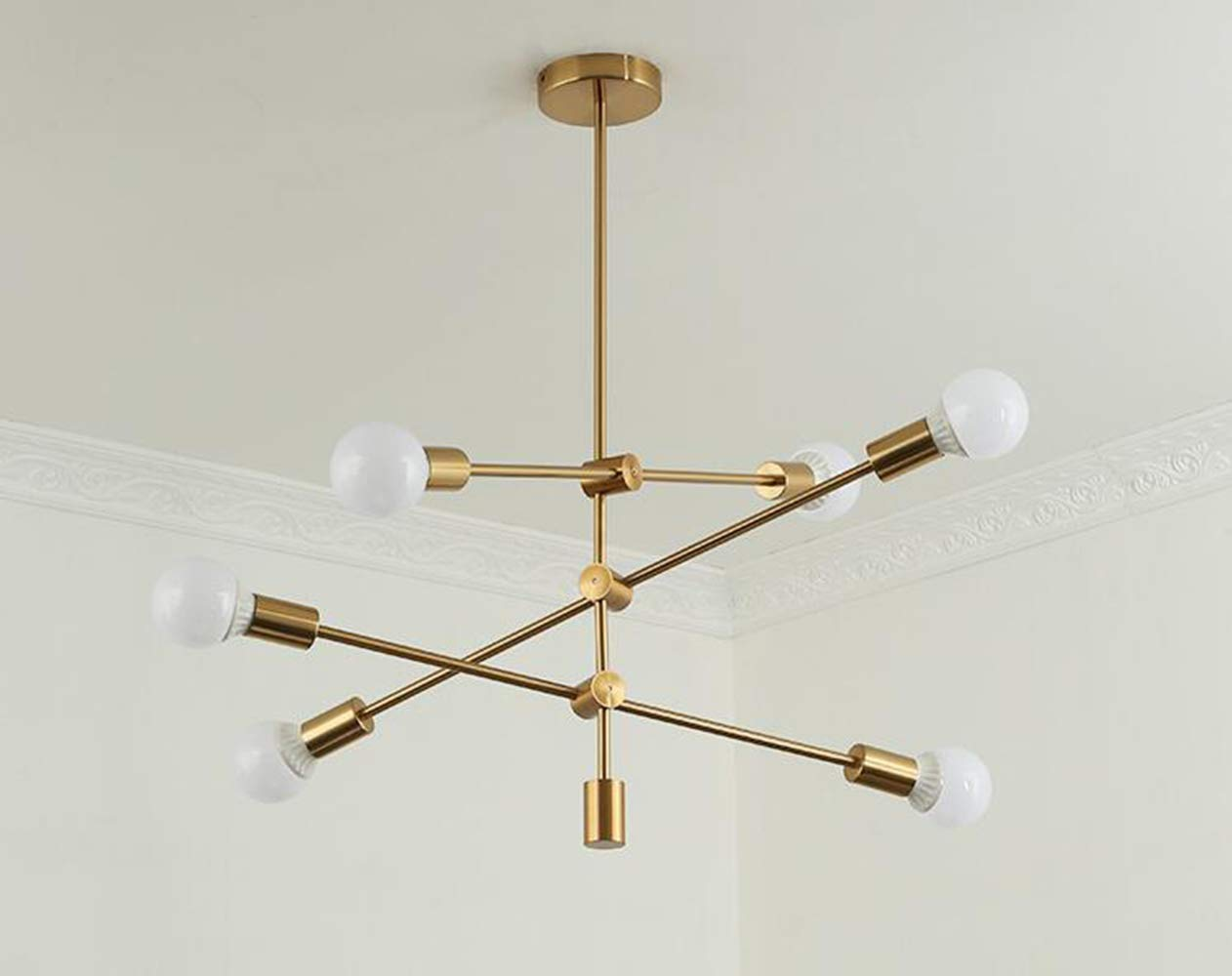Plafoniere Industriali Usate : Lampade a sospensione industriali usate: lampada in ottone spoutnik