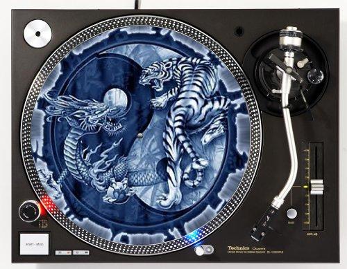 Ying Yang DJ Turntable Slipmat