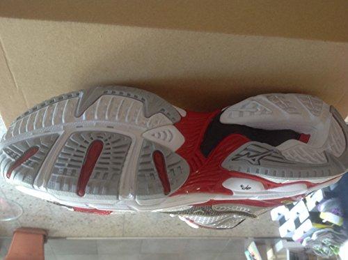 Mizuno - Zapatillas para deportes de interior para hombre blanco blanco blanco