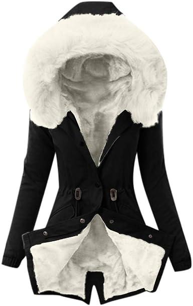 Chers femme uk taille 8 10 12 14 16 fausse fourrure à capuche parka veste militaire