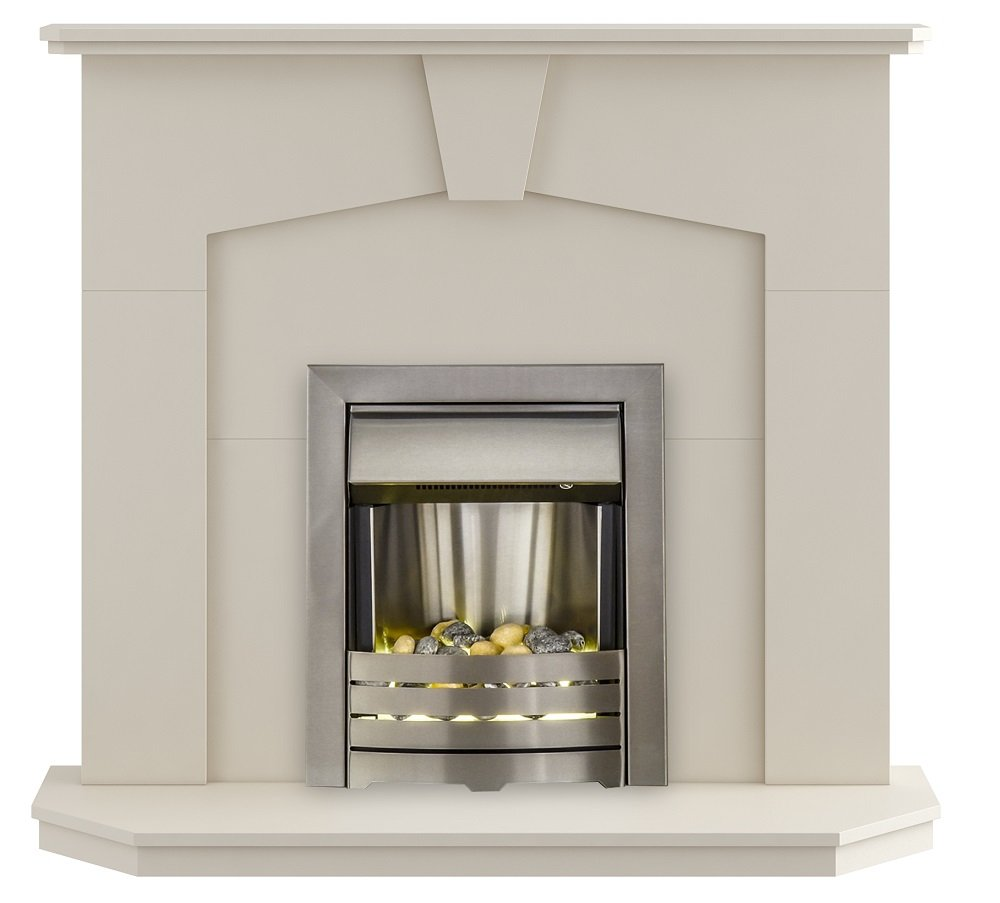 the abbey modern fireplace with helios electric fire amazon co uk