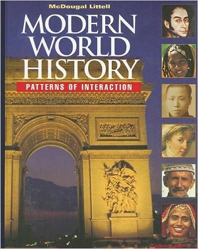 Modern World History 9780395938294 McDougal