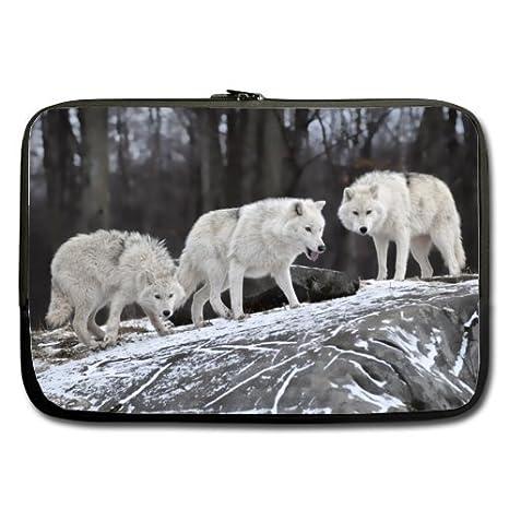 Tres nieve Wolf Forset caminar mejor precio 17 inch Laptop/Ordenador portátil/portátil (