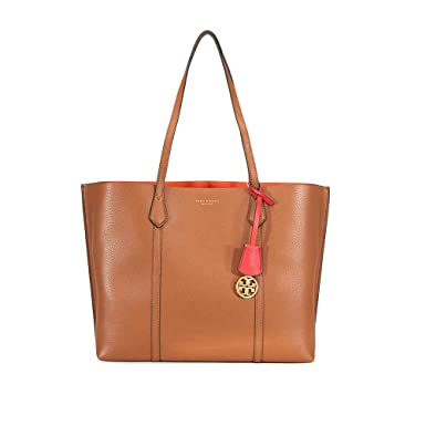 ed379c23f9f Amazon.com: Tory Burch Perry Triple Compartment Tote in Light Umber:  Clothing
