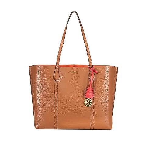 f66a4352ae57aa Tory Burch women Perry shoulder bag marrone  Amazon.ca  Shoes   Handbags