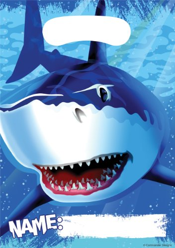 8-Count Party Loot Bags, Shark -