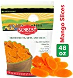 Best Dried Mangos - SUNBEST Dried Mango Slices 3 lbs in Resealable Review
