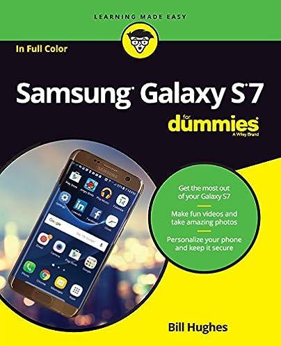 amazon com samsung galaxy s7 for dummies for dummies computer rh amazon com Samsung Transform User Guide Straight Talk Samsung Galaxy S4