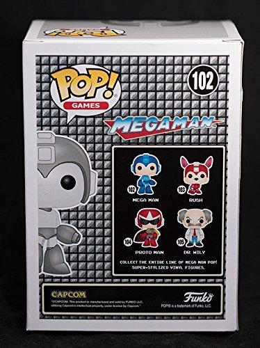 Funko POP Games Retro Mega Man Exclusive #102